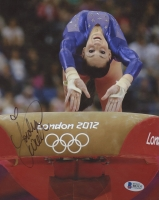 Jordyn Wieber Signed 8x10 Photo (Beckett COA)