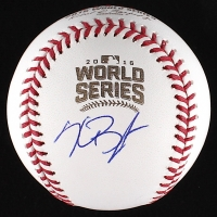 Kris Bryant Signed Official 2016 World Series Baseball (MLB & Fanatics COA)