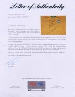 Pele, Gerson, Jairzinho & Carlos Alberto Signed Brazil 1970 World Cup Final Jersey (PSA LOA) at PristineAuction.com