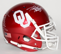 DeMarco Murray & Adrian Peterson Signed Oklahoma Sooners Full-Size Authentic Pro-Line Helmet (Radtke COA & Murray Hologram)
