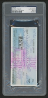 Carrie Fisher Signed Personal Bank Check (PSA Encapsulated)
