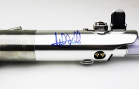 "Mark Hamill Signed ""Star Wars"" Blue Lightsaber (Radtke COA)"