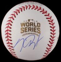 Kris Bryant Signed 2016 World Series Baseball (PSA LOA)