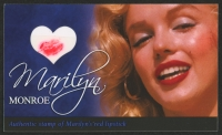 Marilyn Monroe Limited Edition Relic Card with Authentic Stamp of Monroe's Red Lipstick