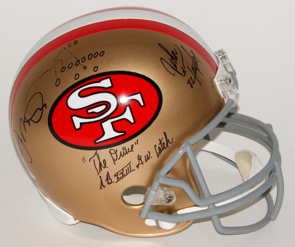 c2494db13 Joe Montana   John Taylor Signed 49ers