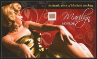 Marilyn Monroe Limited Edition Relic Card with Authentic Piece of Monroe's Worn Stocking