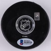Roman Josi Signed Predators Logo Hockey Puck (Beckett COA) at PristineAuction.com