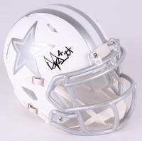 Dak Prescott Signed Cowboys Custom Matte White Speed Ice Mini-Helmet (JSA COA)