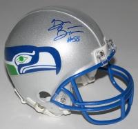 Brian Bosworth Signed Seahawks Throwback Mini-Helmet (JSA COA)