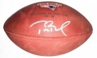 Tom Brady Signed LE Super Bowl 51 Logo Football (Steiner COA & TriStar)