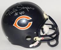 Gale Sayers Signed Bears Full-Size Helmet (JSA COA)