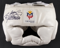 "Manny Pacquiao Signed Full-Size Signed Boxing Headgear Inscribed ""Pacman"" (Pacquiao COA) at PristineAuction.com"