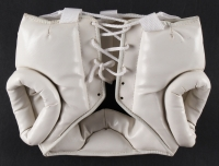 """Manny Pacquiao Signed Full-Size Signed Boxing Headgear Inscribed """"Pacman"""" (Pacquiao COA) at PristineAuction.com"""