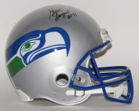 "Steve Largent Signed LE Seahawks Full-Size Authentic Pro-Line Helmet Inscribed ""HOF '95"" (Steiner COA)"