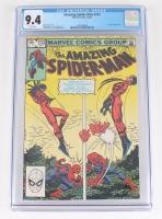 "Vintage 1982 ""The Amazing Spider-Man"" #233 Marvel Comic Book (CGC 9.4)"