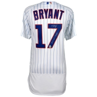 """Kris Bryant Signed Chicago Cubs 2016 World Series Jersey Inscribed """"2016 WS Champs"""" (Fanatics Hologram & MLB Hologram) at PristineAuction.com"""