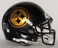 Steelers Full-Size Authentic Proline Matte Black Helmet