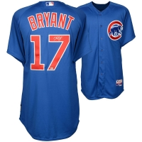 Kris Bryant Signed Cubs Majestic Authentic Jersey (MLB Hologram & Fanatics Hologram) at PristineAuction.com