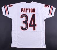 Walter Payton Signed Bears Jersey with (5) Inscriptions (PSA LOA)