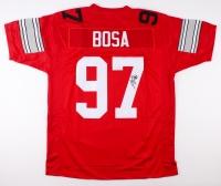 Joey Bosa Signed Ohio State Buckeyes Jersey (JSA COA)