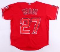 Mike Trout Signed Angels Jersey (JSA LOA)