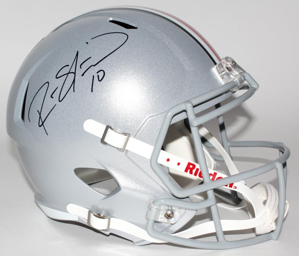 151607125 Ryan Shazier Signed Ohio State Buckeyes Full-Size Speed Helmet (JSA COA) at