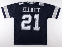 Ezekiel Elliott Signed Cowboys Jersey (JSA COA)
