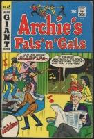 """Vintage 1967 """"Archie's Pals 'n' Gals"""" #45 Archie Comic Book"""