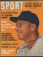 Mickey Mantle Signed Yankees Original 1962 Sports Magazine (JSA ALOA)