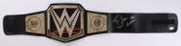 "Ric Flair Signed World Heavyweight Champion Belt Inscribed ""16x"" & ""Wooooo"" (JSA Hologram)"