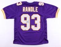 John Randle Signed Vikings Jersey (Sports Integrity Hologram)