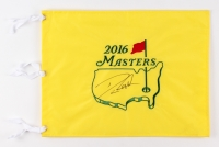 Danny Willett Signed 2016 Masters Tournament Golf Pin Flag (PSA LOA)