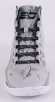 Stephen Curry Signed Under Armour Basketball Shoe (JSA LOA)