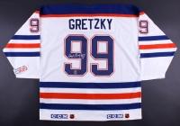 Wayne Gretzky Signed Oilers Captain Jersey (WG Authentic COA)