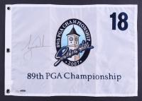 Tiger Woods Signed LE 2007 PGA Championship Pin Flag (UDA)