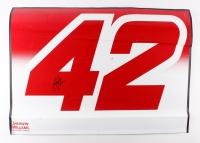 "Kyle Larson Signed NASCAR 38"" x 28"" Race-Used Sheetmetal Cup Series Car Door #42 (PA COA)"