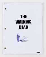 "Norman Reedus Signed ""The Walking Dead"" Pilot Episode Full Script (PTS COA)"