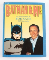 "Bob Kane Signed LE ""Batman & Me"" Hardcover Book (JSA COA)"