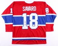 Serge Savard Signed Canadiens Jersey (Beckett COA)