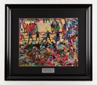 "LeRoy Neiman ""Muhammad Ali"" 19"" x 21"" Custom Framed Print Display"