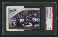 Dale Earnhardt Sr. Signed 1994 Action Packed Champ and Challenger #25 (SGC Encapsulated)