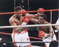 Michael Spinks Jinx Signed 16x20 Photo (PSA COA)