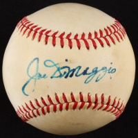 Joe DiMaggio Signed OAL Baseball (PSA LOA)