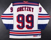 Wayne Gretzky Signed Rangers Jersey (Beckett Hologram)