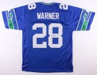 Curt Warner Signed Seahawks Jersey (JSA COA)