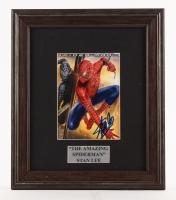 "Stan Lee Signed ""Spider-Man 3"" 10.75"" x 12.75"" Custom Framed Photo Display (PSA COA)"