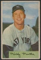 1954 Bowman #65 Mickey Mantle