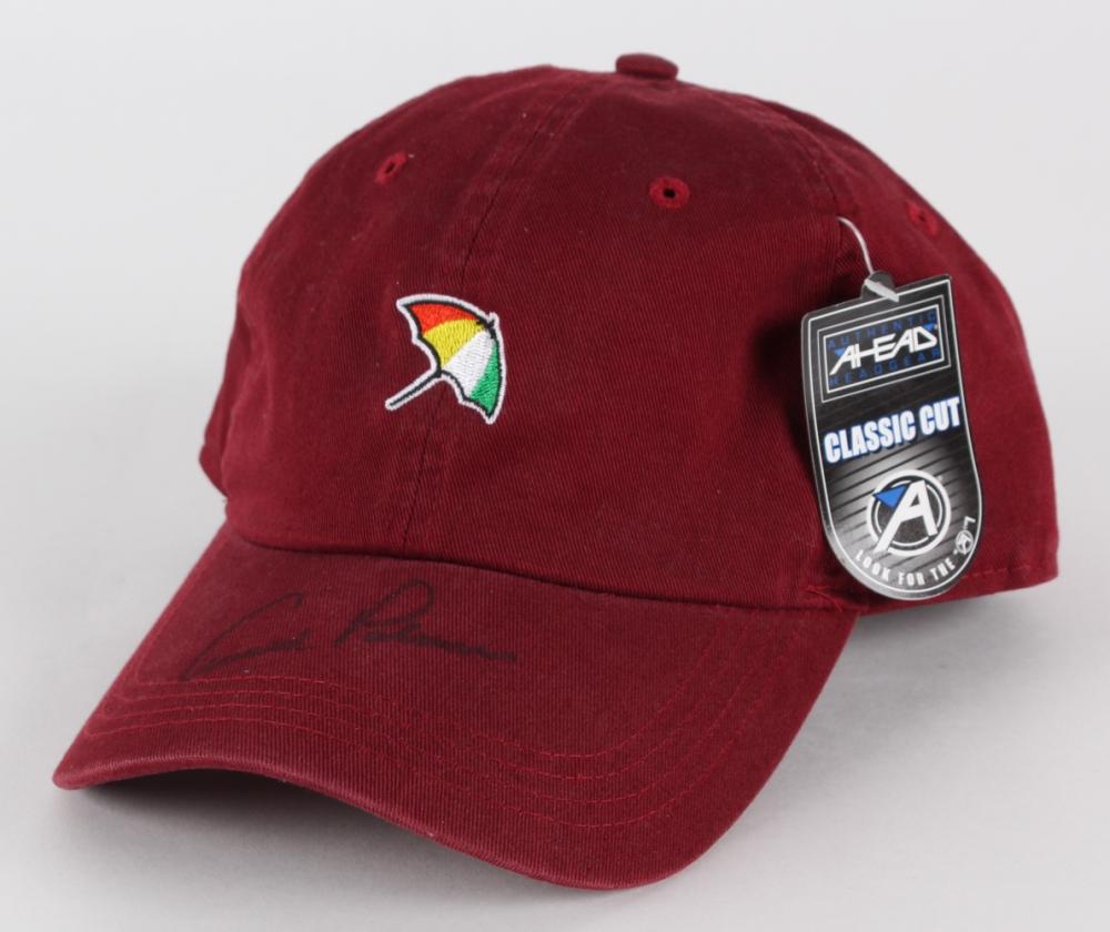 Arnold Palmer Signed Ahead Golf Hat (JSA COA) at PristineAuction.com 3c50efd5f46