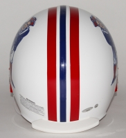 Tom Brady Signed Patriots Throwback Full-Size Authentic Pro-Line Helmet (Tristar & Steiner COA) at PristineAuction.com