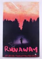 "Kanye West Signed ""Runaway"" 24"" x 36"" Movie Poster (JSA COA)"